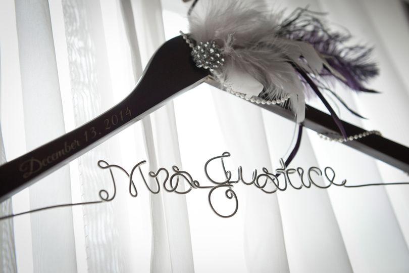 wedding dress custom name