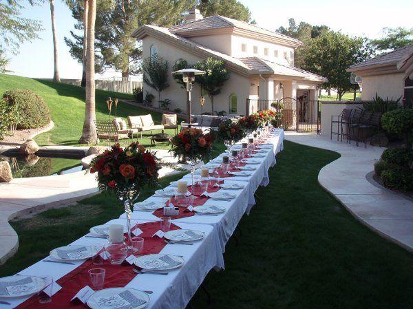 Fiesta Flowers, Plants & Gifts Carlson Wedding Centerpieces