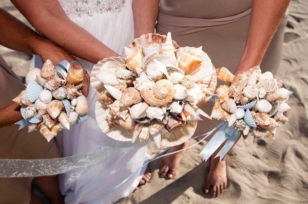 Fiesta Flowers, Plants & Gifts E & M Wedding/Bride Bouquet and Bridesmaids Nosegay's Photo taken...