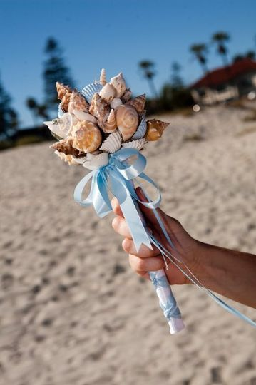 Fiesta Flowers, Plants & Gifts E & M Wedding/Bridesmaid Nosegay Photo taken by Tosh Imagery