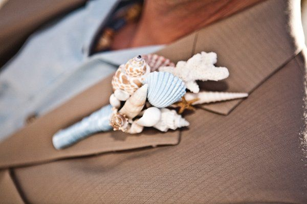 Fiesta Flowers, Plants & Gifts E & M Wedding/Groom Boutonniere Photo taken by Tosh Imagery