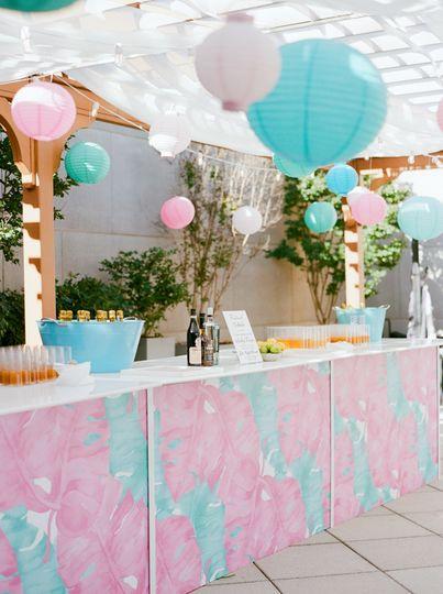 Festive Summer Bar