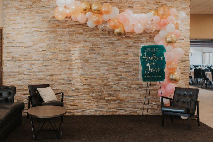 Lobby setup-Ali Lockery