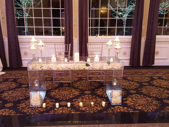 Tmx 1483894383482 Acrylic Table 1 Bergenfield wedding florist