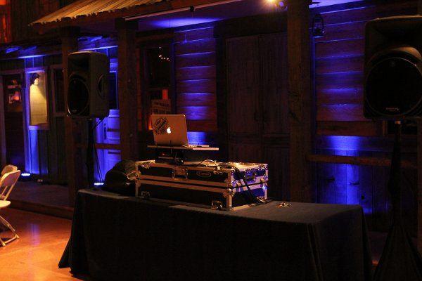 SB Carriage Museum, Uplighting, DJ setup