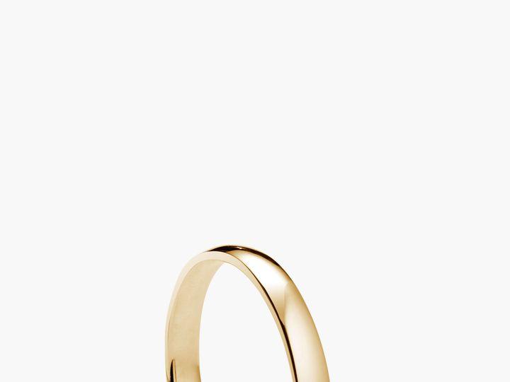 Tmx 1529422387 1da2020303b63324 1529422385 8e1ef6a7289a740c 1529422382219 3 Ring 05A Gold Brooklyn wedding jewelry