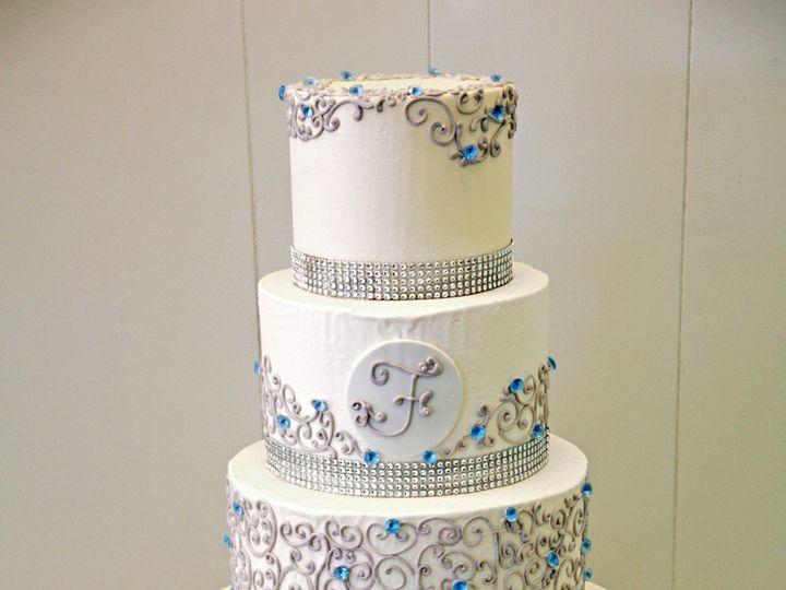 Tmx 1400453268726 Gray Scrol Newark, Delaware wedding cake