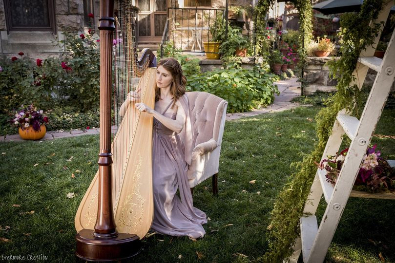 Mary Keener, harpist
