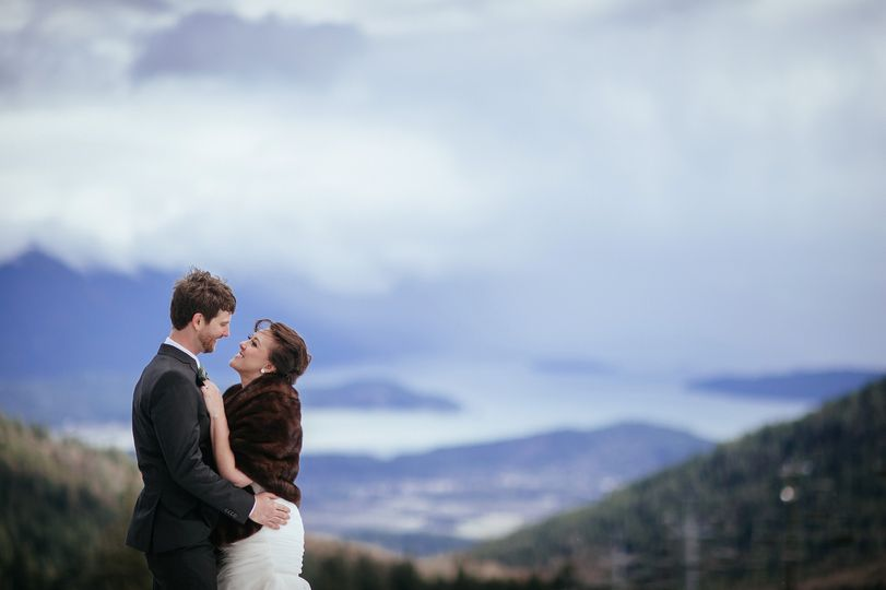 Schweitzer Mountain wedding, Sandpoint Idaho