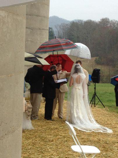 Rain and the Ceremony