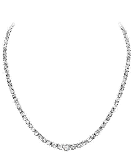 Riviera diamond necklaces