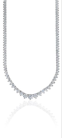 Tennis diamond necklaces