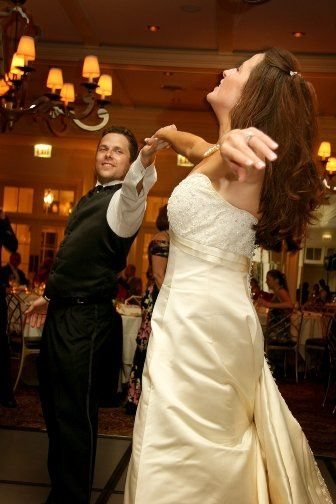 Brother sister dance at the reception.