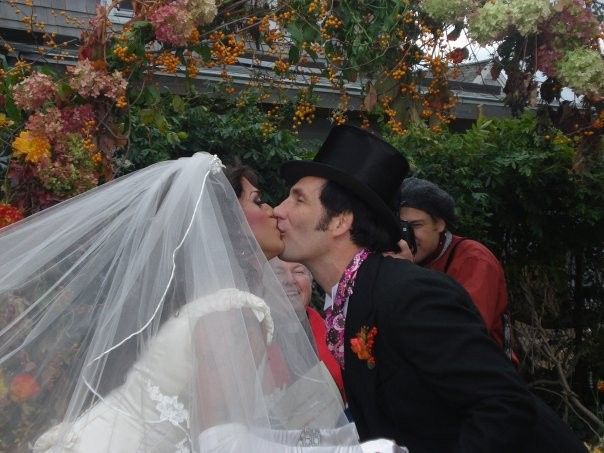 They Kiss: Penny and Ryan's Big October Wedding, Provincetown, Massachusetts