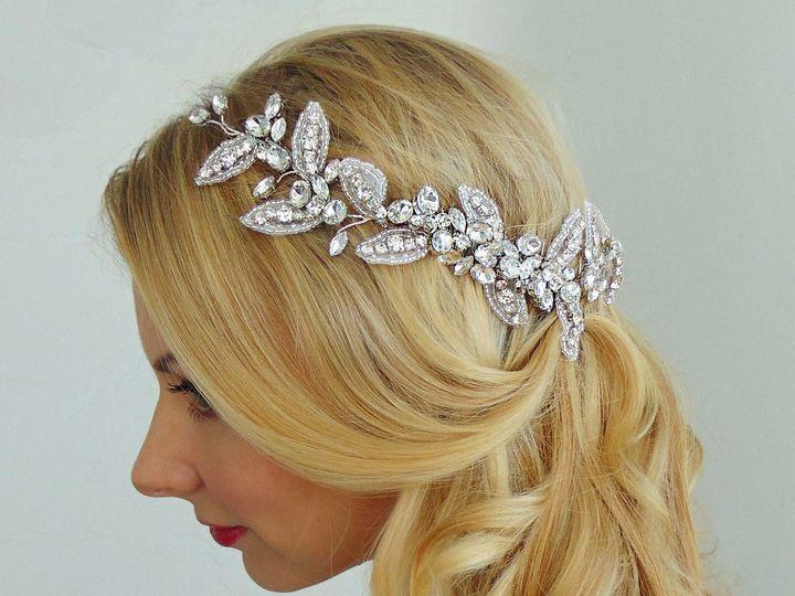 Tmx 1486313754699 Headband Piece Halfup New York, New York wedding beauty