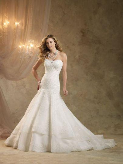 Kathy Ireland KI1320 Wedding Dress