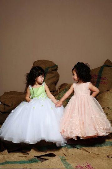 Eden Princess flowergirl dress style 12298