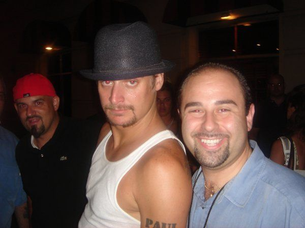 Owner of Limos Without Limits, Michael Colella & client Kid Rock