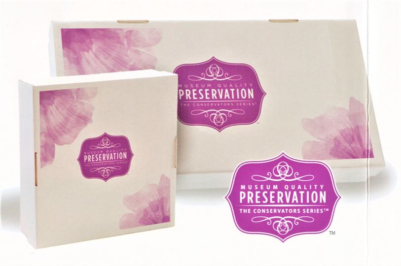 Premium archival boxes, lignen free Neutral ph, Ultra strong, Buffered to resist acid-migration...