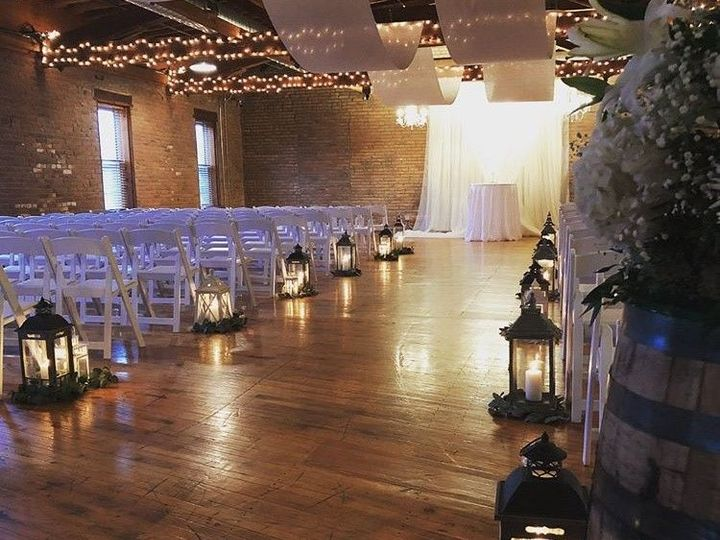 Tmx 1516914149 8337a66c4bc1e3d4 1516914148 9e43dcbc3cf455e5 1516914154359 5 Swoop Drapes Cerem Noblesville, IN wedding venue