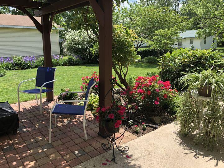 Side garden / Pergola wedding