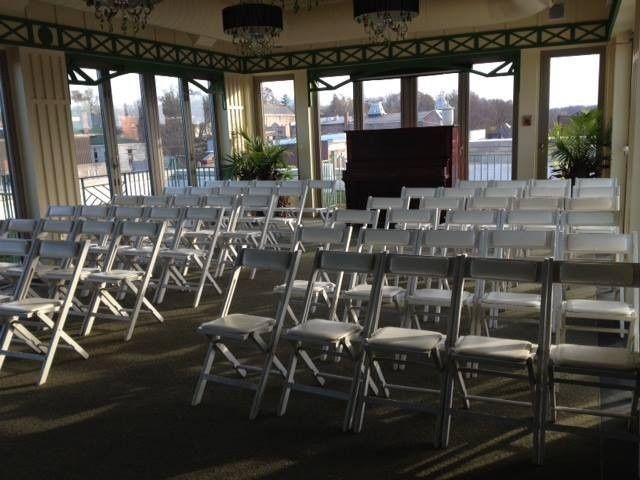 Intimate Wedding in the Cloud Club