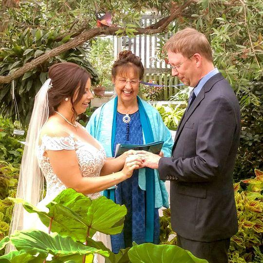 Wedding at Hidden Lake