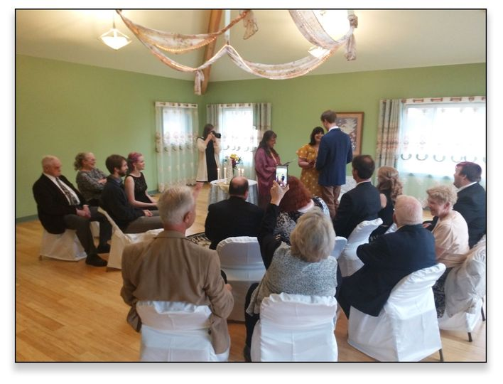 Wedding in my Ceremony space