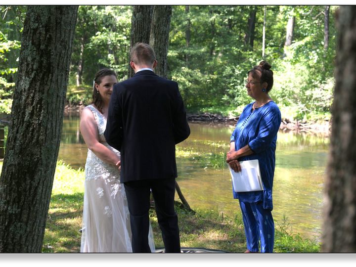 Tmx M And M Wedding By The River With Drop Shadow Copy 51 978426 159733275315355 Manchester, MI wedding officiant