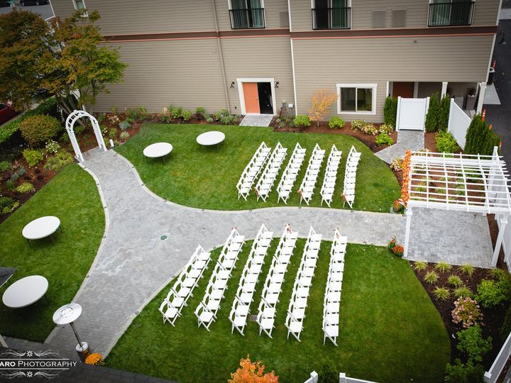 Tmx 1416949049681 Garden Courtyard Anacortes, Washington wedding venue