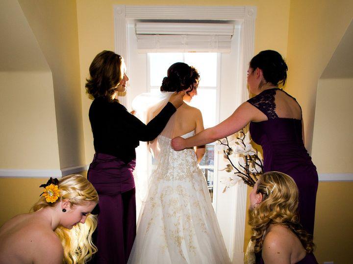 Tmx 1458232383808 Bridesmaids Helping Bride With Dress Anacortes, Washington wedding venue