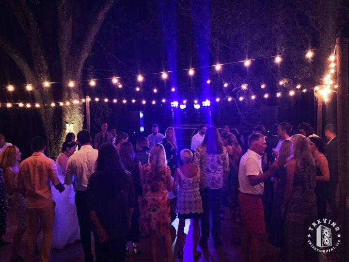 Outdoor dance floor