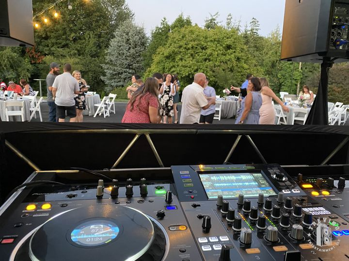 Turntables at Wedding
