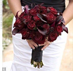 black wedding flowers my favorite bouquet