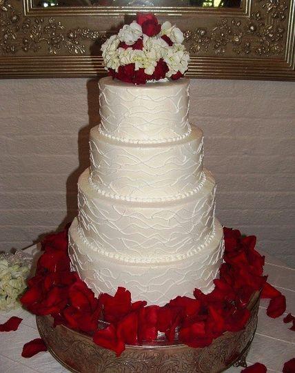 b priest wed cake