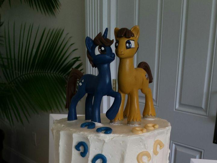 Tmx 1465510890435 Brony Wedding Cake Sykesville wedding cake