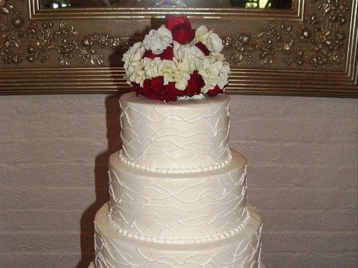 Tmx 1465510947580 B. Priest Wed Cake Sykesville wedding cake