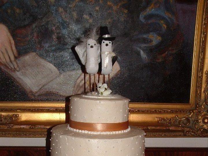 Tmx 1465510994345 Birds Of A Feather Gold Sykesville wedding cake