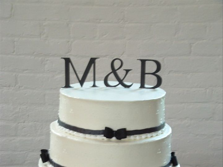 Tmx 1465511042281 Black Tie Affair Sykesville wedding cake