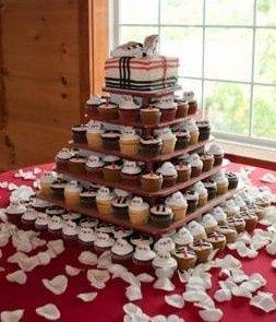 Tmx 1465511097314 Burbury Cupcake Tower Sykesville wedding cake