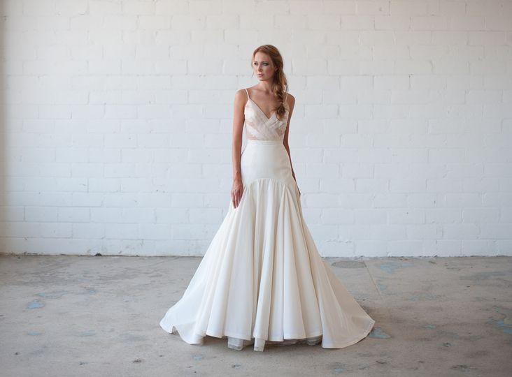 Gilded Bridal Dress Attire Raleigh Nc Weddingwire