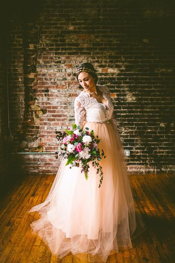 Blush pink dress