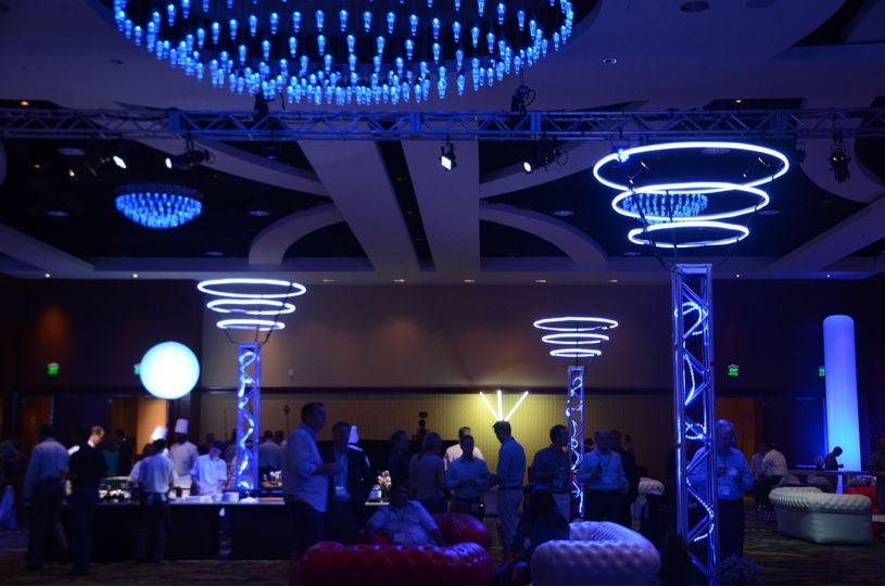 corporate event lighting 1
