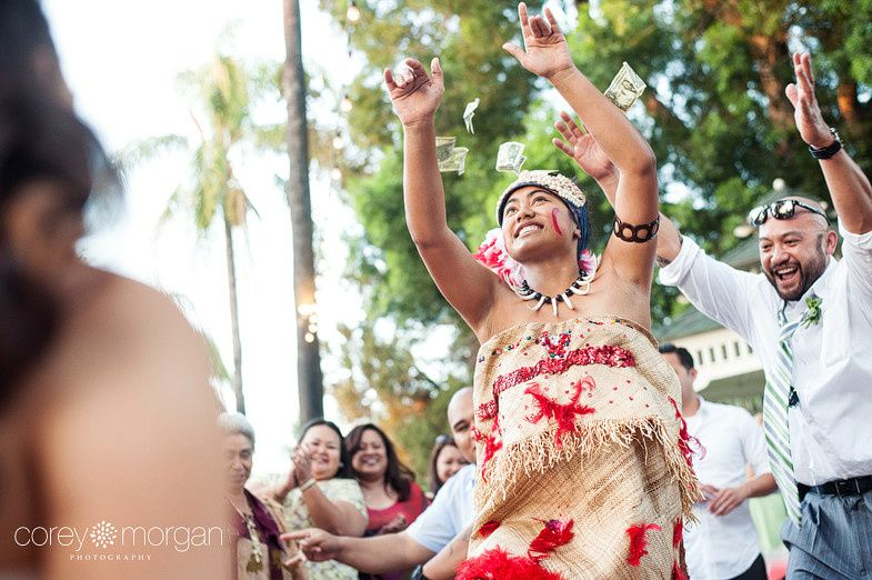 samoan money dance corona wedding photographers