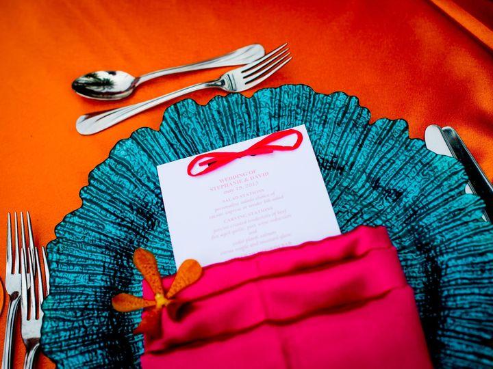 Tmx 1374850259464 Blue Charger Orange Pink Satin1 Boca Raton, Florida wedding florist