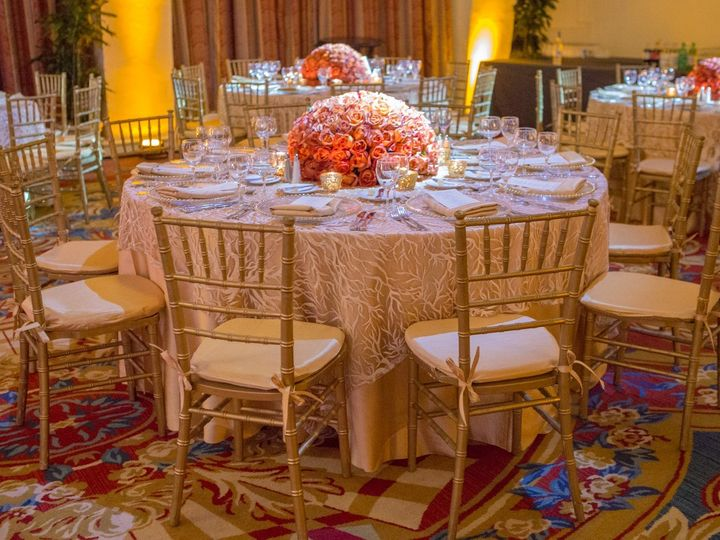 Tmx Coral Sequin Champagne Linen Gold Rimmed Chargers Gold Dupioni Napkins  51 66526 1565278078 Boca Raton, Florida wedding florist