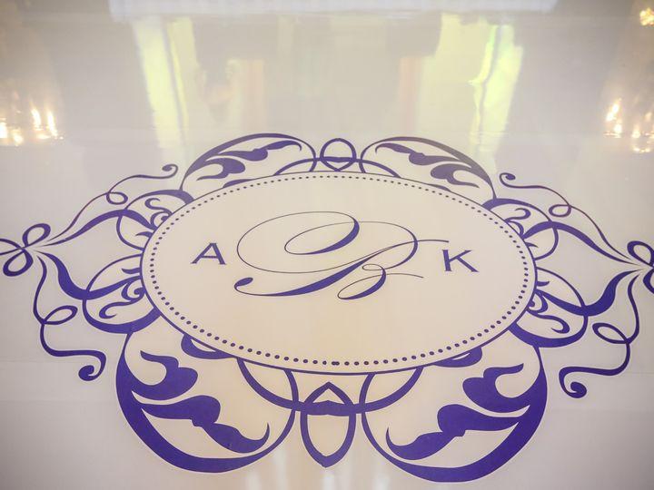 Tmx Monogram Dance Floor Design 2 51 66526 1565381737 Boca Raton, Florida wedding florist