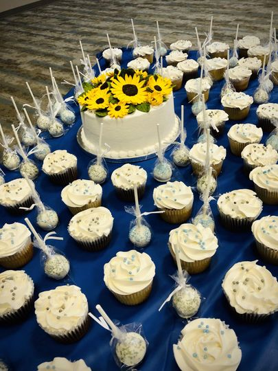 Cake, cupcakes, and cakepops