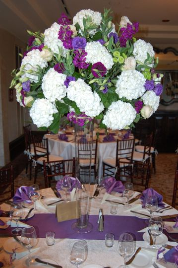 Big floral centerpiece