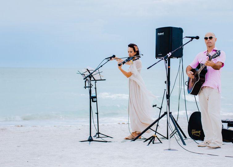 Lido Key Beach Wedding Ceremony 2017